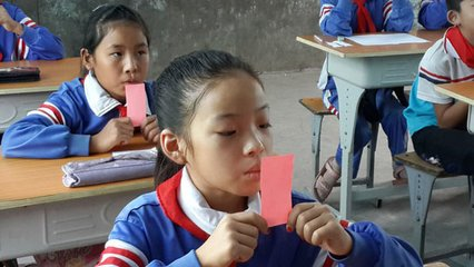 農村娃,上堂傳統文化直播課