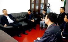 湘潭技師學院黨委書記羅愛民調研宣傳思想、招生就業和教務教學工作