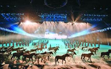 實景劇《蒙古馬》的文旅融合實踐