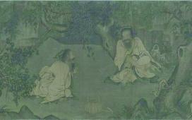從兩幅畫看李唐的愛國情懷