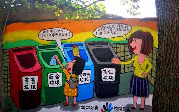 杭州小學生暑期參與垃圾分類