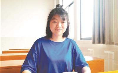 勵志學生張茲華將得到的愛傳遞下去