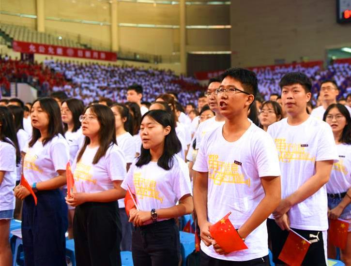 全國高校千萬大學生用青春告白祖國
