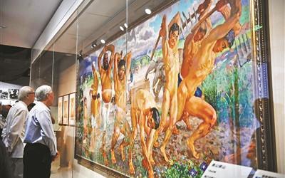 徐悲鸿纪念馆重新开放 众多经典作品入藏