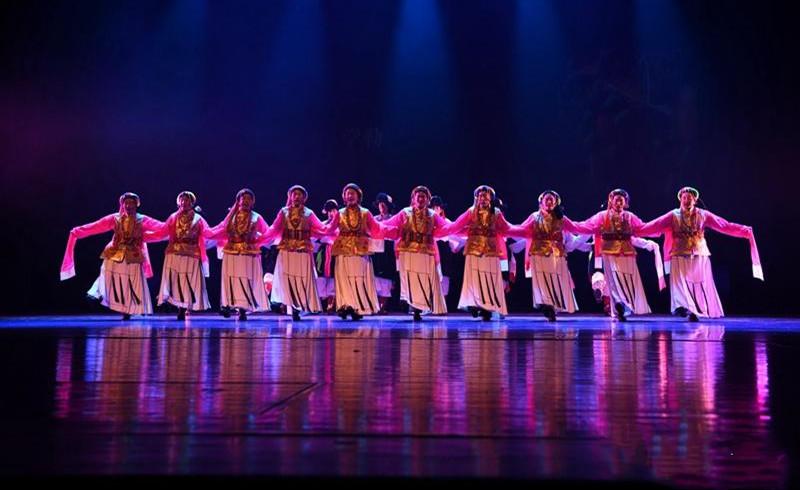 """第三屆""""一帶一路""""民族傳統舞蹈展演舉辦"""