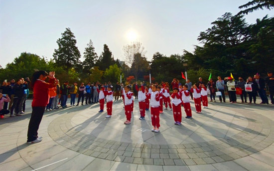 中国儿童中心中华文化特色实验班亲子运动会
