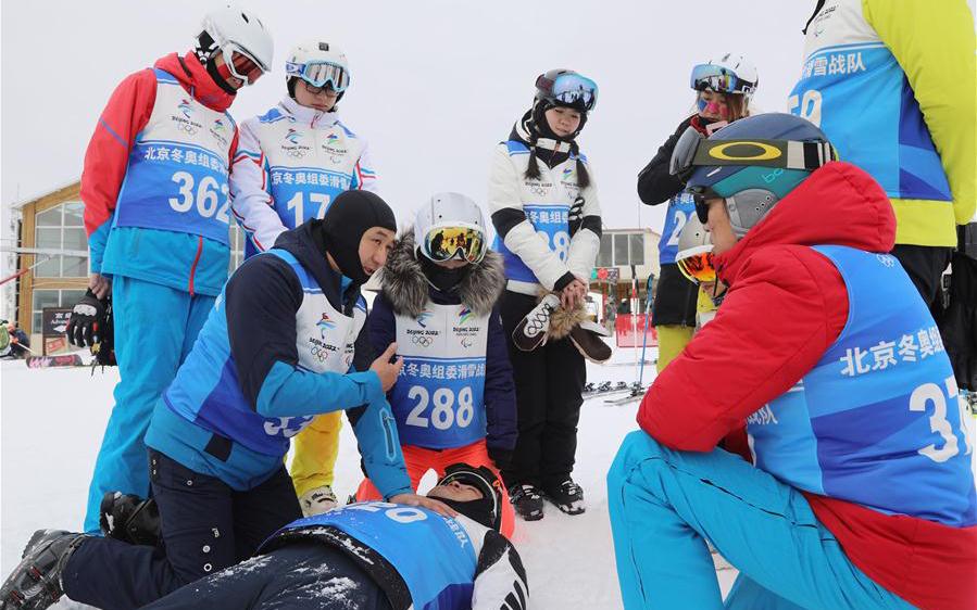 加油中国!圆梦冬奥!——北京冬奥组委滑雪战队队员的新年心愿