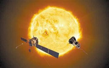 """""""太阳轨道飞行器""""传回首次测量数据"""
