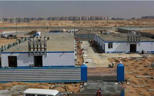中建埃及新首都CBD项目防疫不停工