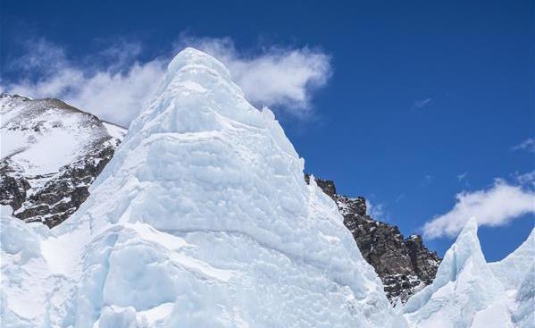 壯美珠峰冰塔林