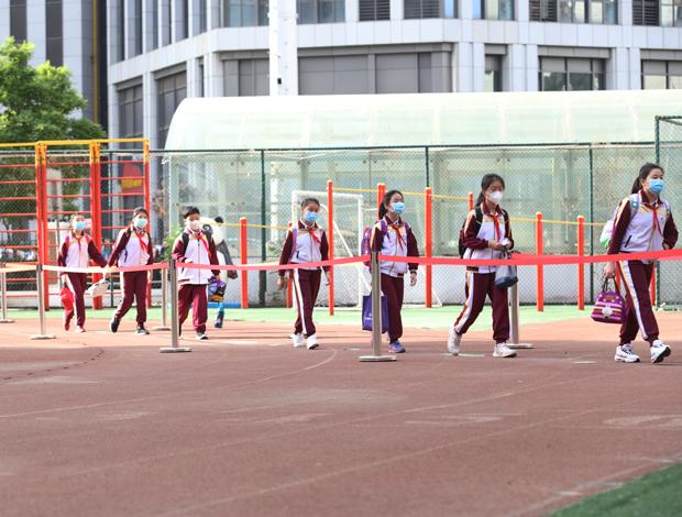 天津中小學63萬學生今日有序復課