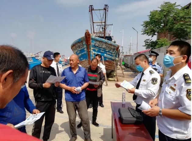護航兩會 | 東疆海事安全宣講進漁村
