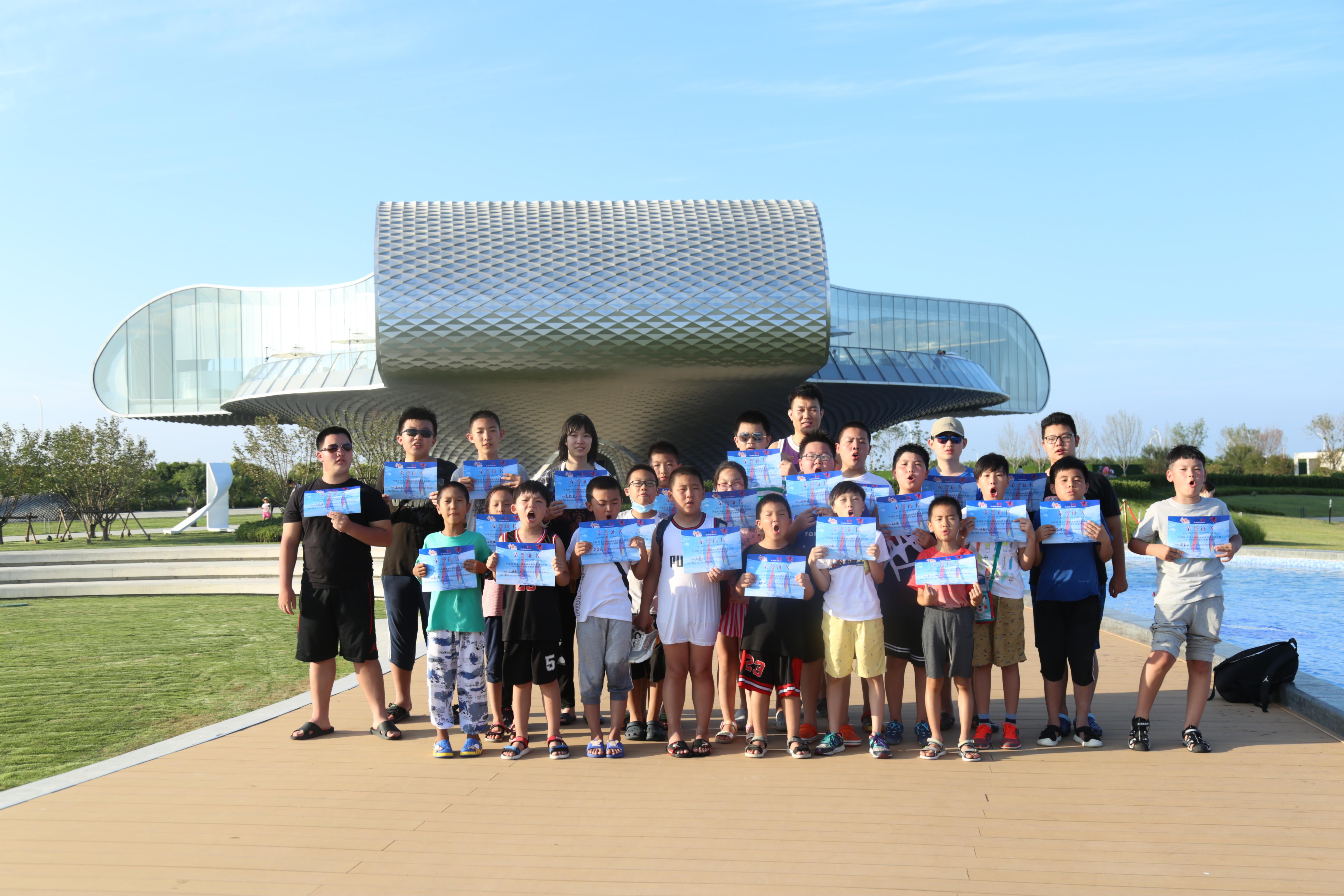 中国网·育华篮球风采小船长第二期活动收官展示