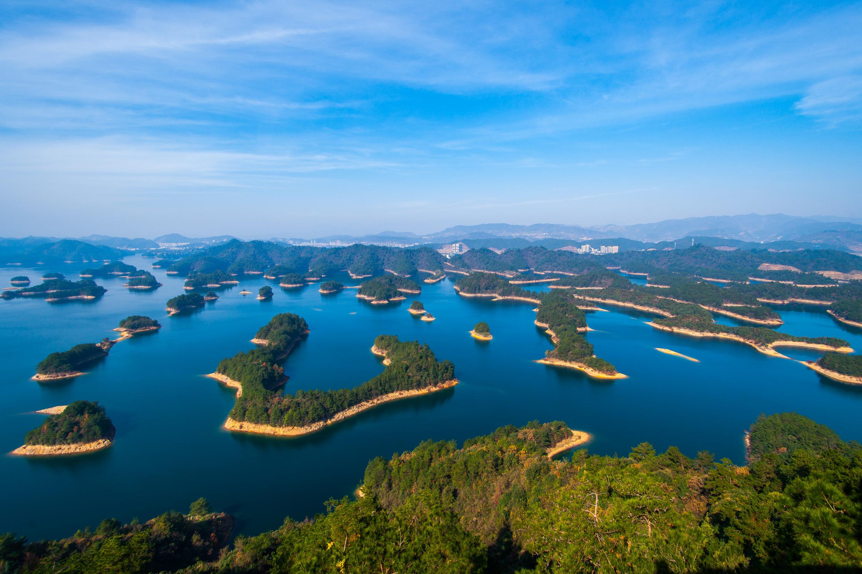 浙江千岛湖的生态和谐之道