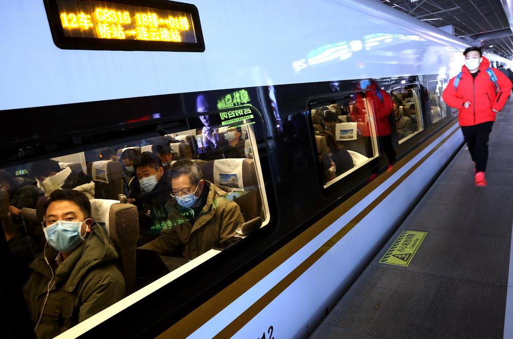 盐通高铁正式开通运营