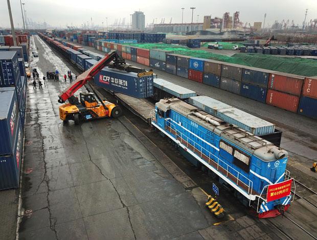 助力中欧班列开行保障国际物流通道畅通