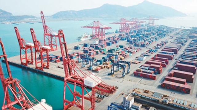 前2月货物贸易进出口总值增长32.2%