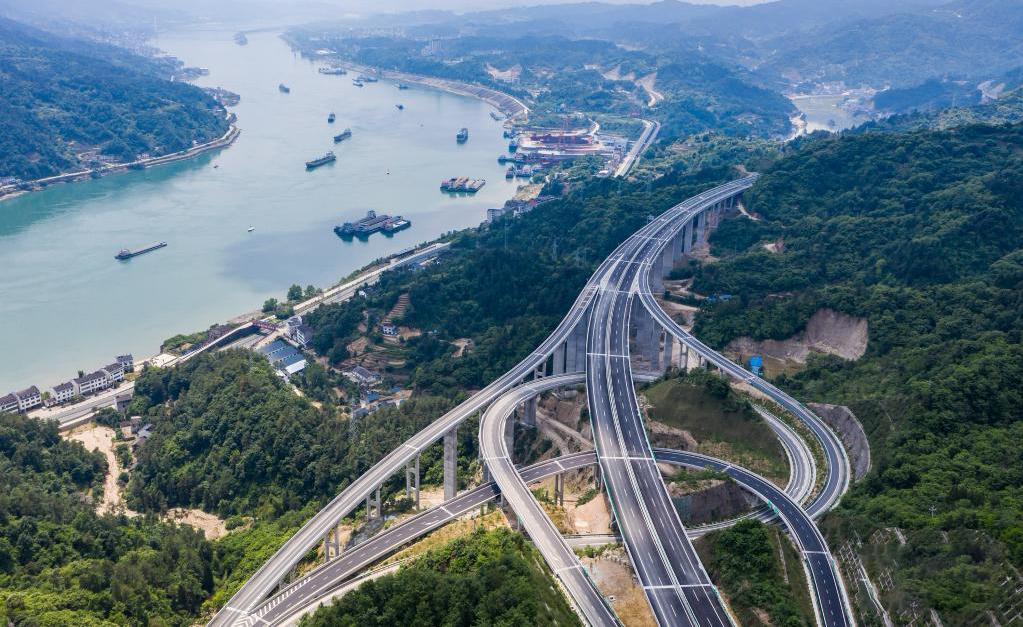 三峡翻坝江北高速公路即将建成通车