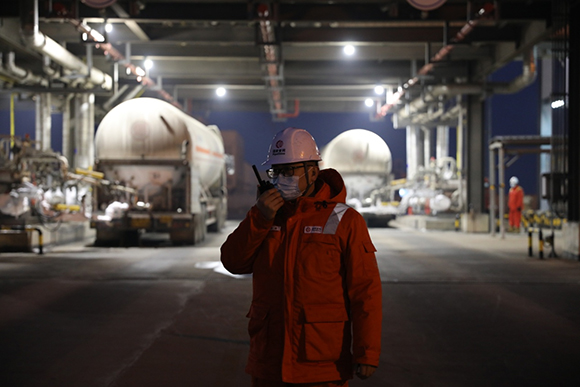 天津液化天然气年度液态外输量突破200万吨