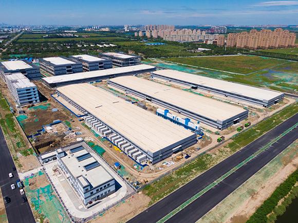 中建五局三公司腾讯天津高新云数据中心项目送电成功